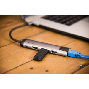 Verbatim USB 3.1 Type-C Multiport Hub (USB 3.0 / HDMI / Ethernet)