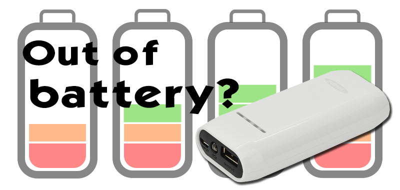 Your device is out of battery? This will never be a problem anymore.