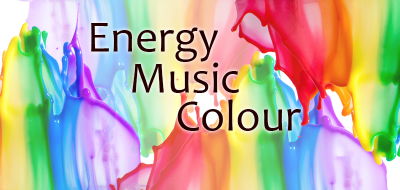 Music, energy and colour.
